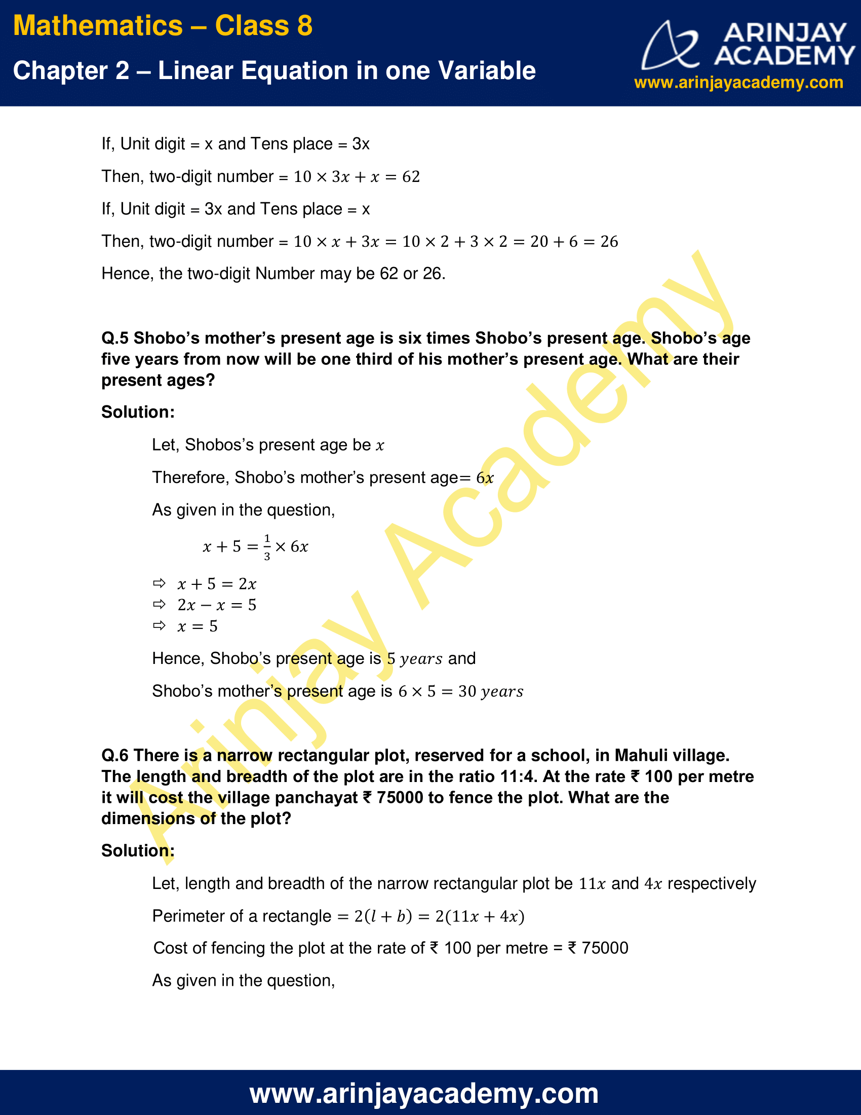 NCERT Solutions for Class 8 Maths Chapter 2 Exercise 2.4 image 3