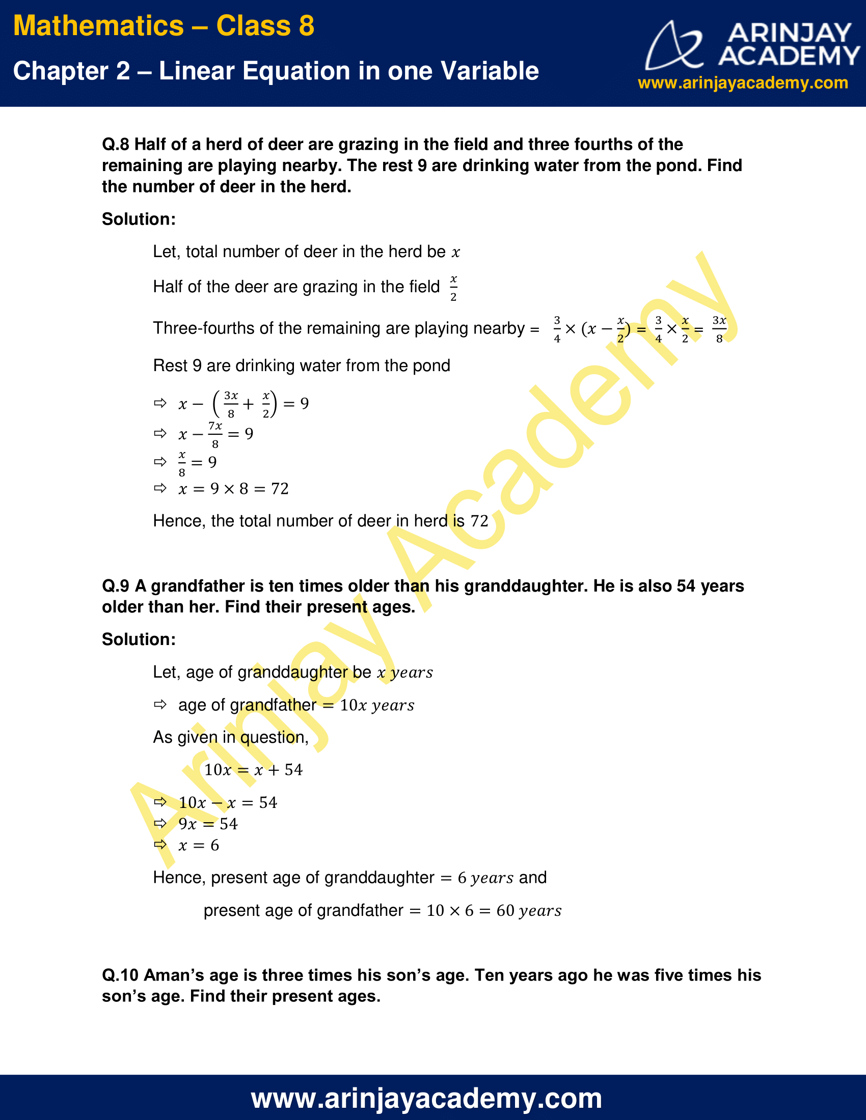 NCERT Solutions for Class 8 Maths Chapter 2 Exercise 2.4 image 5