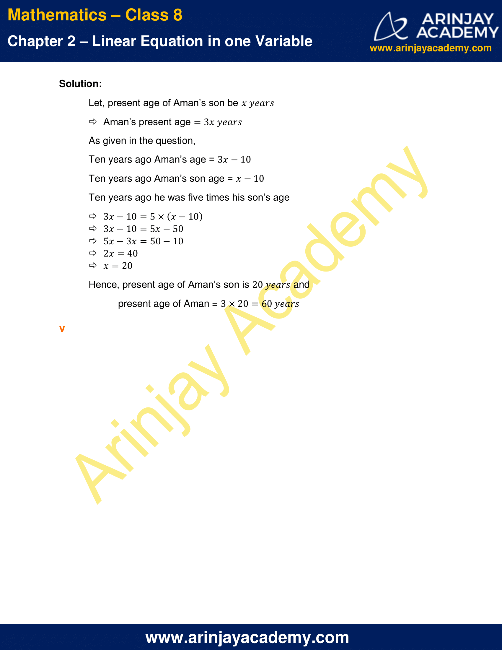 NCERT Solutions for Class 8 Maths Chapter 2 Exercise 2.4 image 6