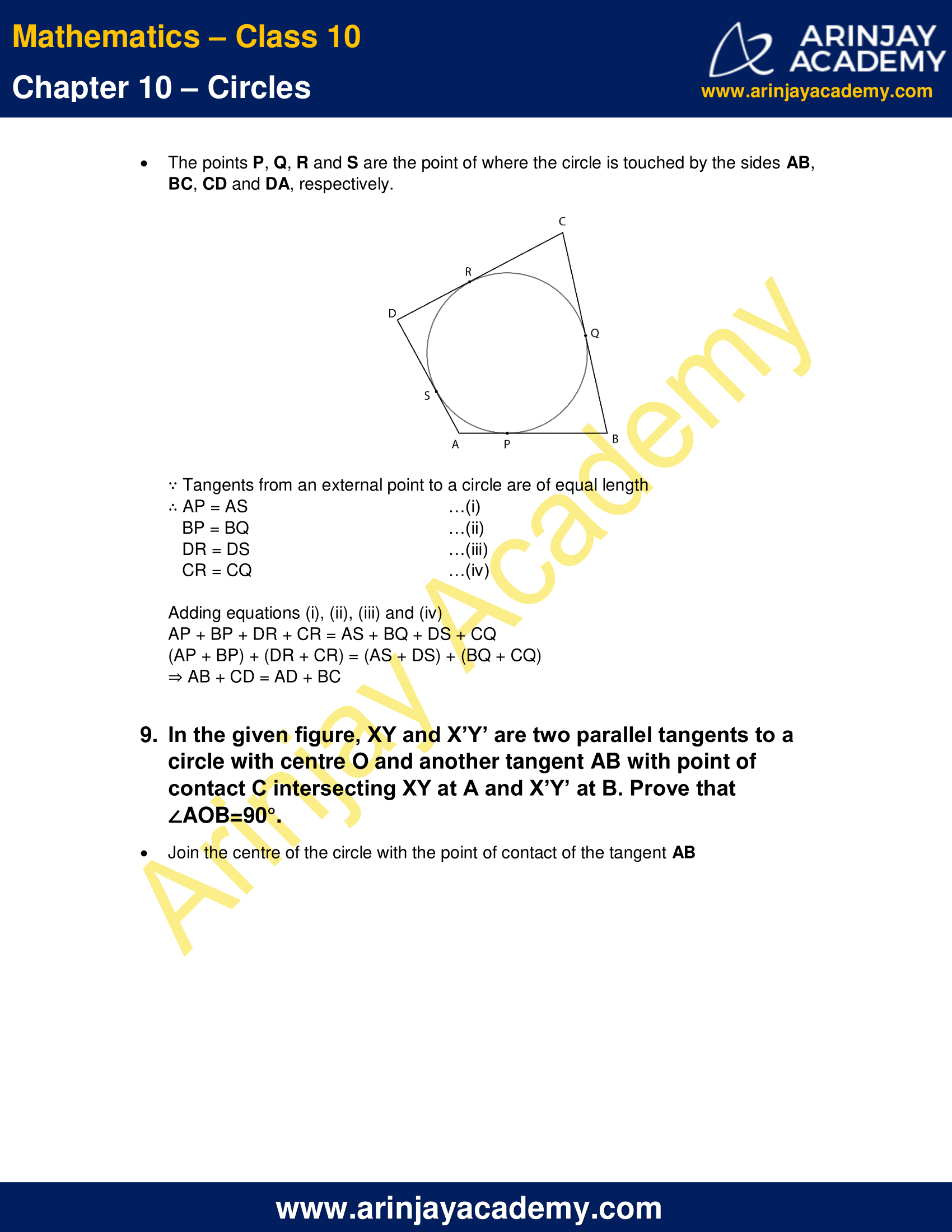 NCERT Solutions For Class 10 Maths Chapter 10 Exercise 10.2 image 7