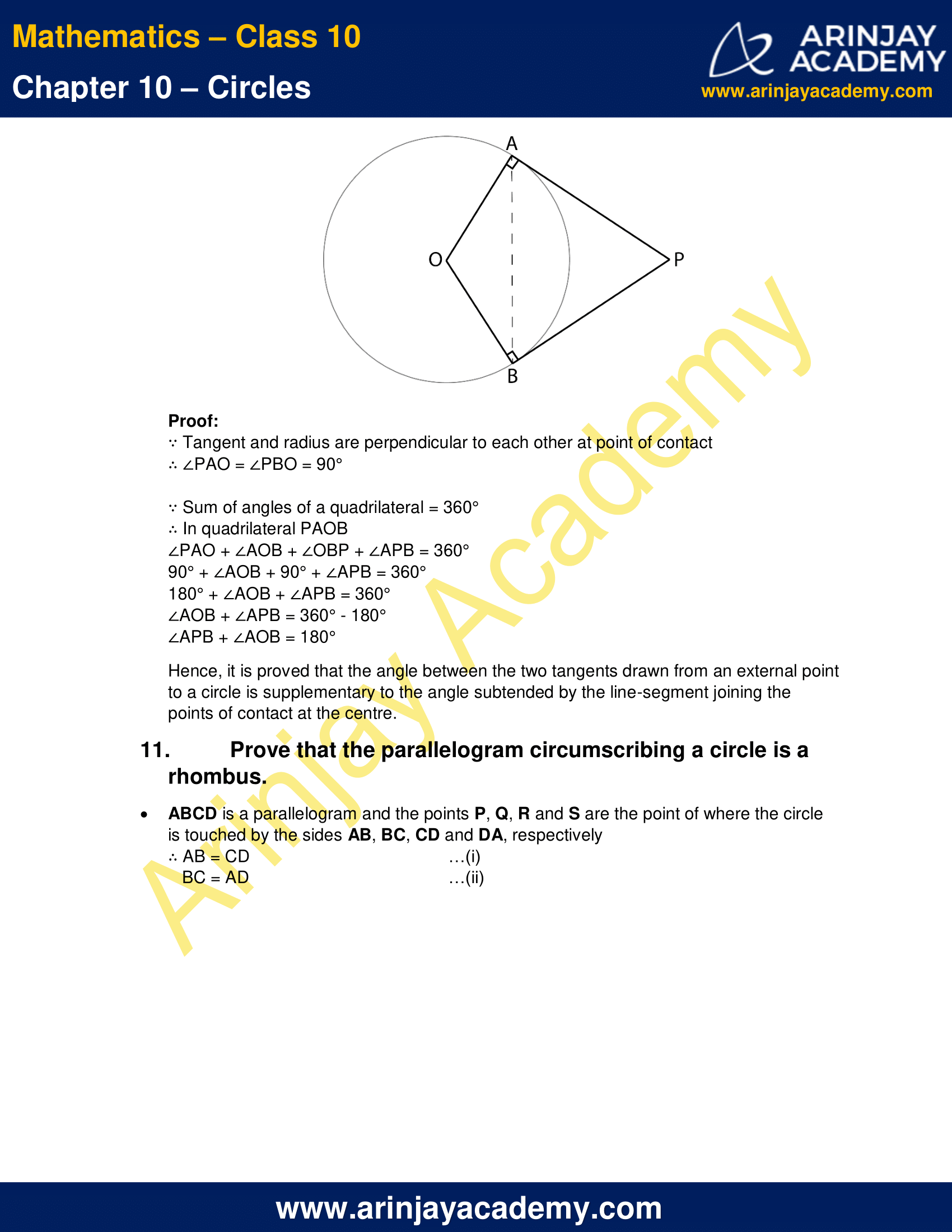 NCERT Solutions For Class 10 Maths Chapter 10 Exercise 10.2 image 9