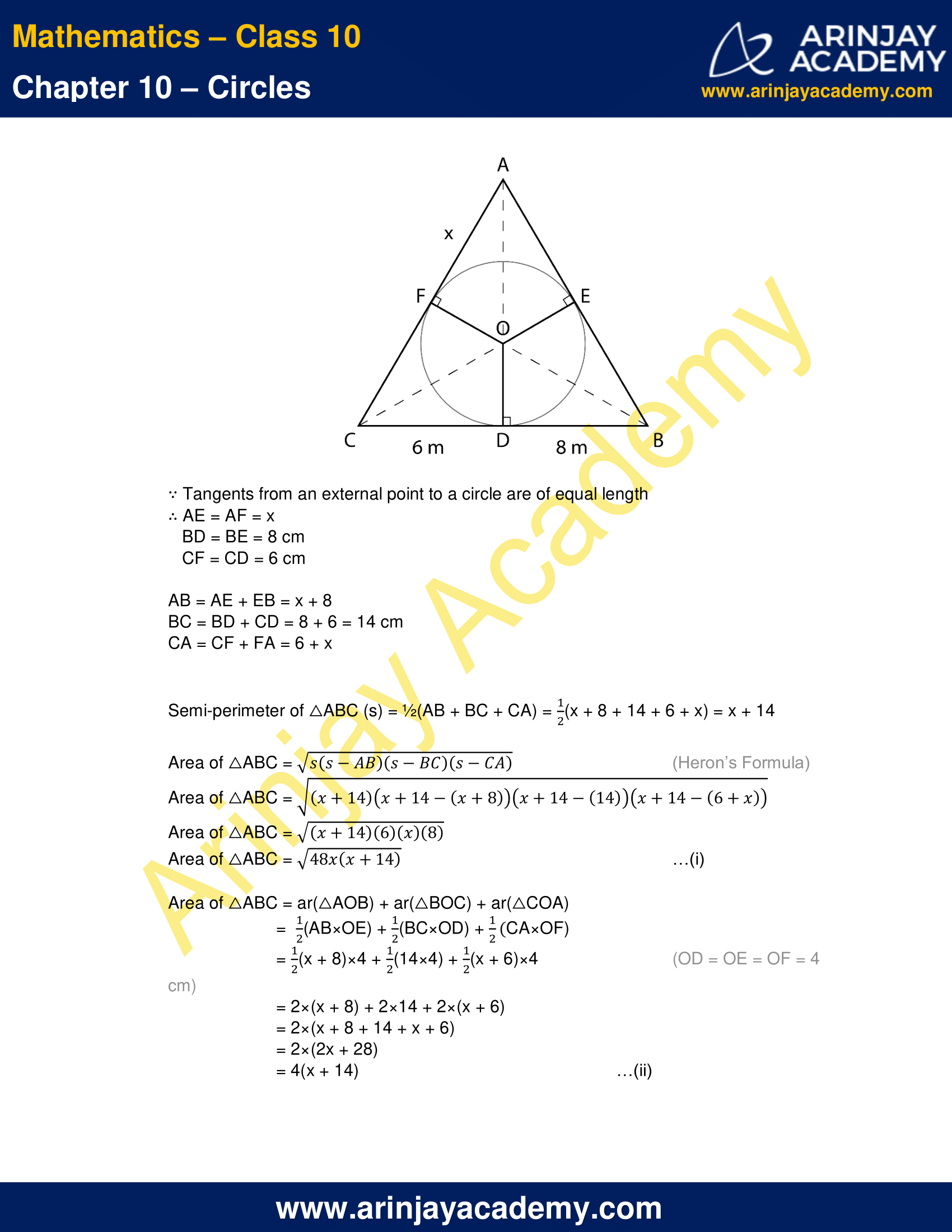 NCERT Solutions For Class 10 Maths Chapter 10 Exercise 10.2 image 11