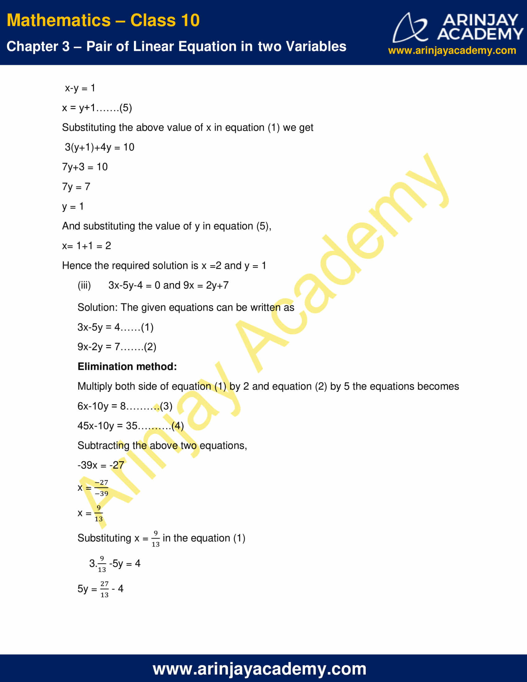 NCERT Solutions For Class 10 Maths Chapter 3 Exercise 3.4 image 3