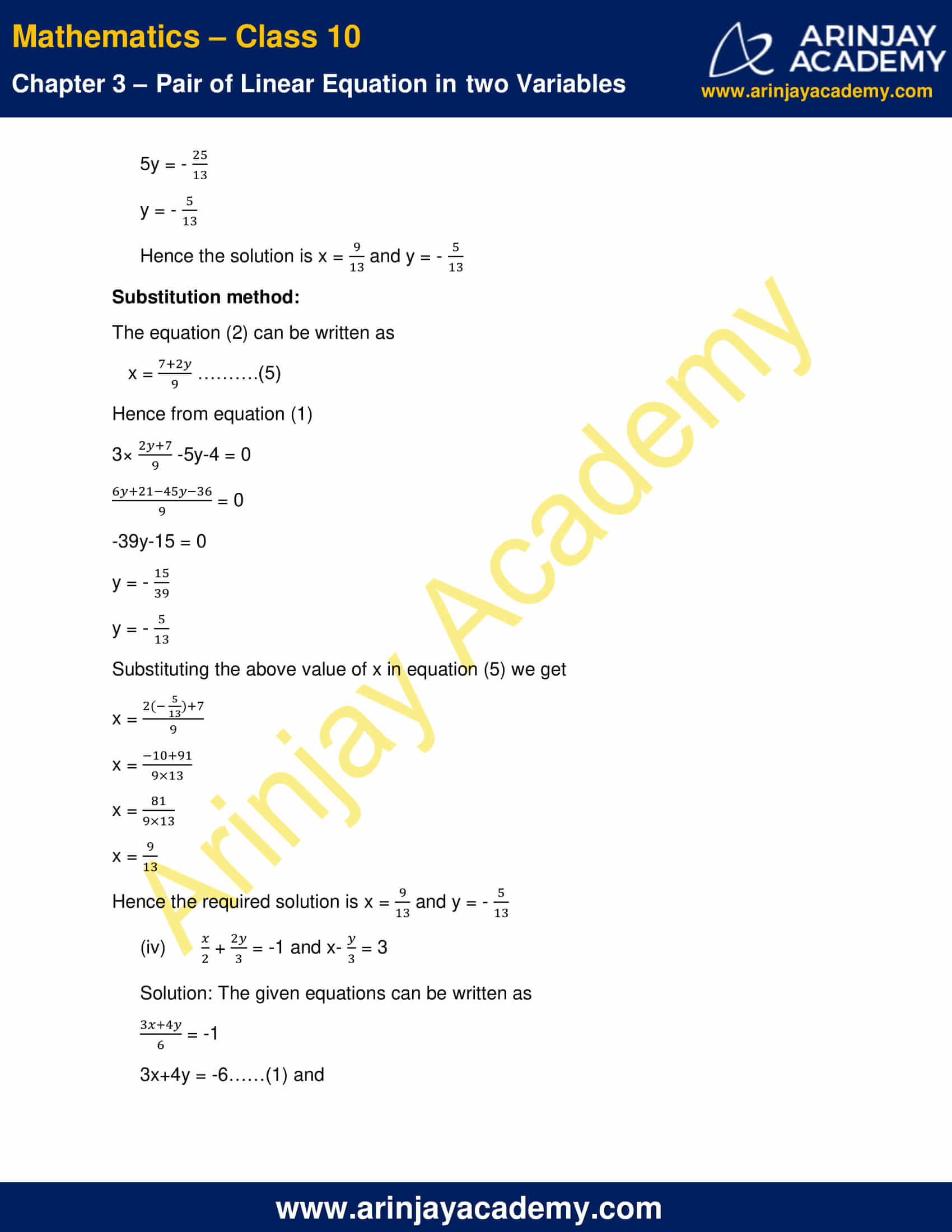 NCERT Solutions For Class 10 Maths Chapter 3 Exercise 3.4 image 4