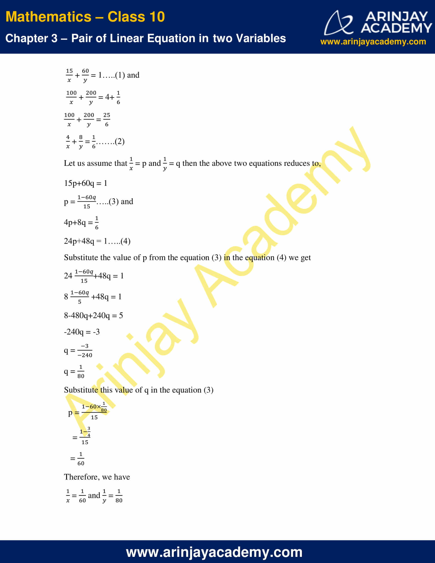 NCERT Solutions For Class 10 Maths Chapter 3 Exercise 3.6 image 11