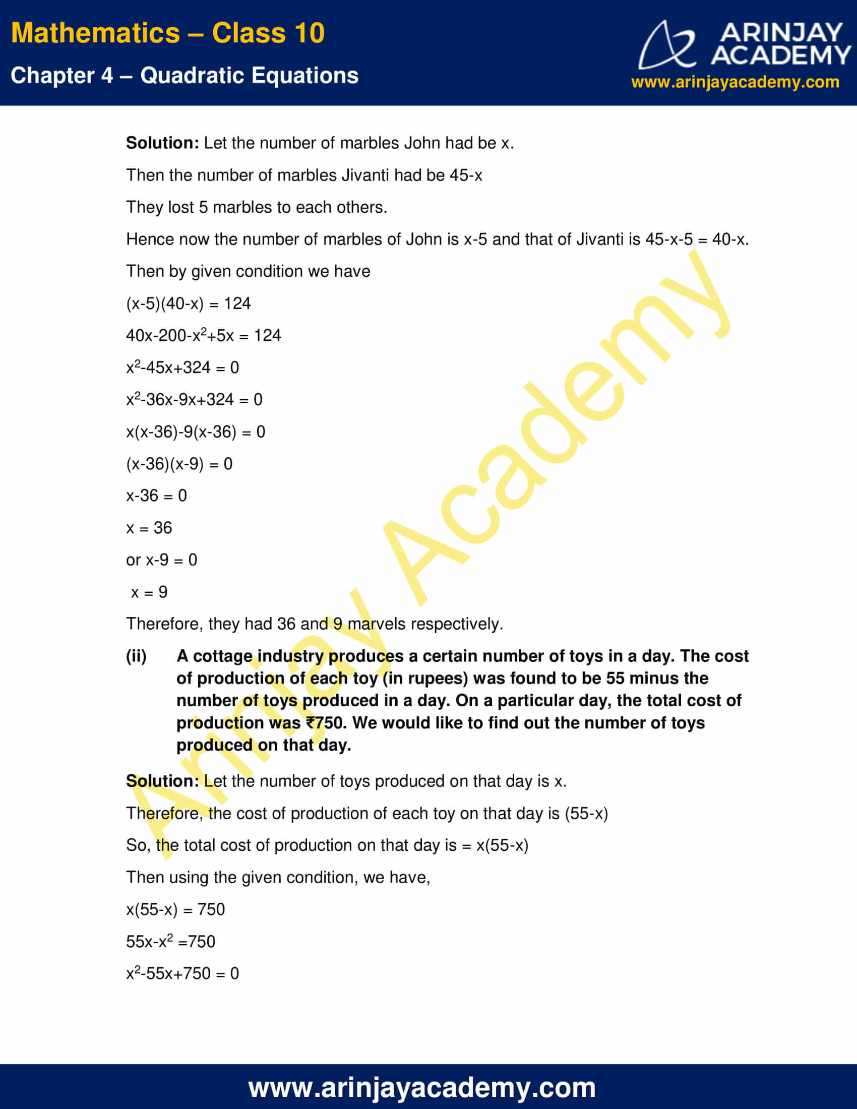 NCERT Solutions For Class 10 Maths Chapter 4 Exercise 4.2 image 3
