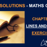 NCERT Solutions for Class 9 Maths Chapter 6 Exercise 6.1 Lines and Angles