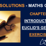 NCERT Solutions for Class 9 Maths Chapter 5 Exercise 5.1