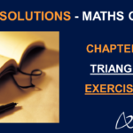 NCERT Solutions for Class 9 Maths Chapter 7 Exercise 7.1 - Triangles