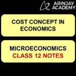 Cost Concept in Economics