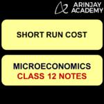 Short run cost