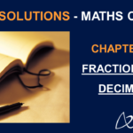 NCERT Solutions for Class 7 Maths Chapter 2 - Fractions and Decimals