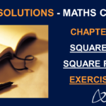 NCERT Solutions For Class 8 Maths Chapter 6 Exercise 6.1 - Square and Square roots