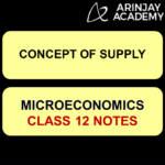 Concept of Supply