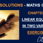 NCERT Solutions for Class 9 Maths Chapter 4 Exercise 4.1