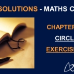 NCERT Solutions For Class 10 Maths Chapter 10 Exercise 10.2 - Circles