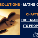 NCERT Solutions for Class 7 Maths Chapter 6 - Triangle and its properties