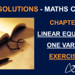 NCERT Solutions for Class 8 Maths Chapter 2 Exercise 2.6