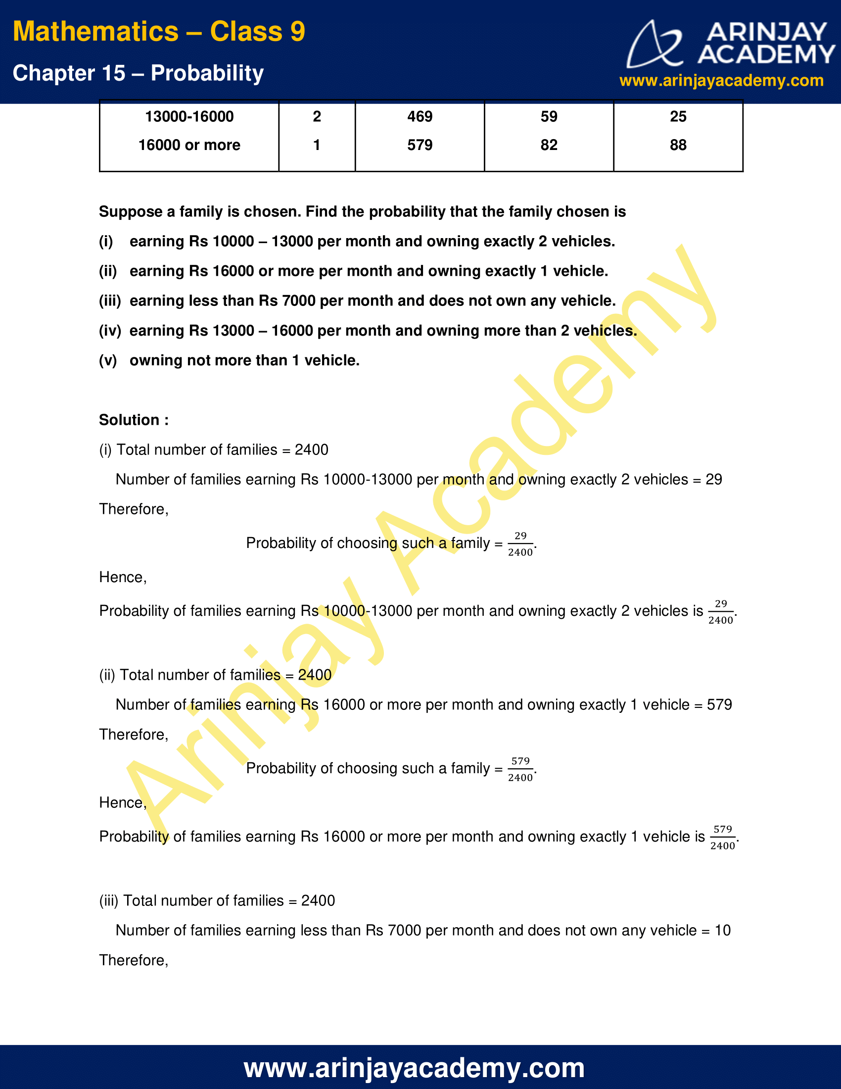 NCERT Solutions for Class 9 Maths Chapter 15 Exercise 15.1 image 5