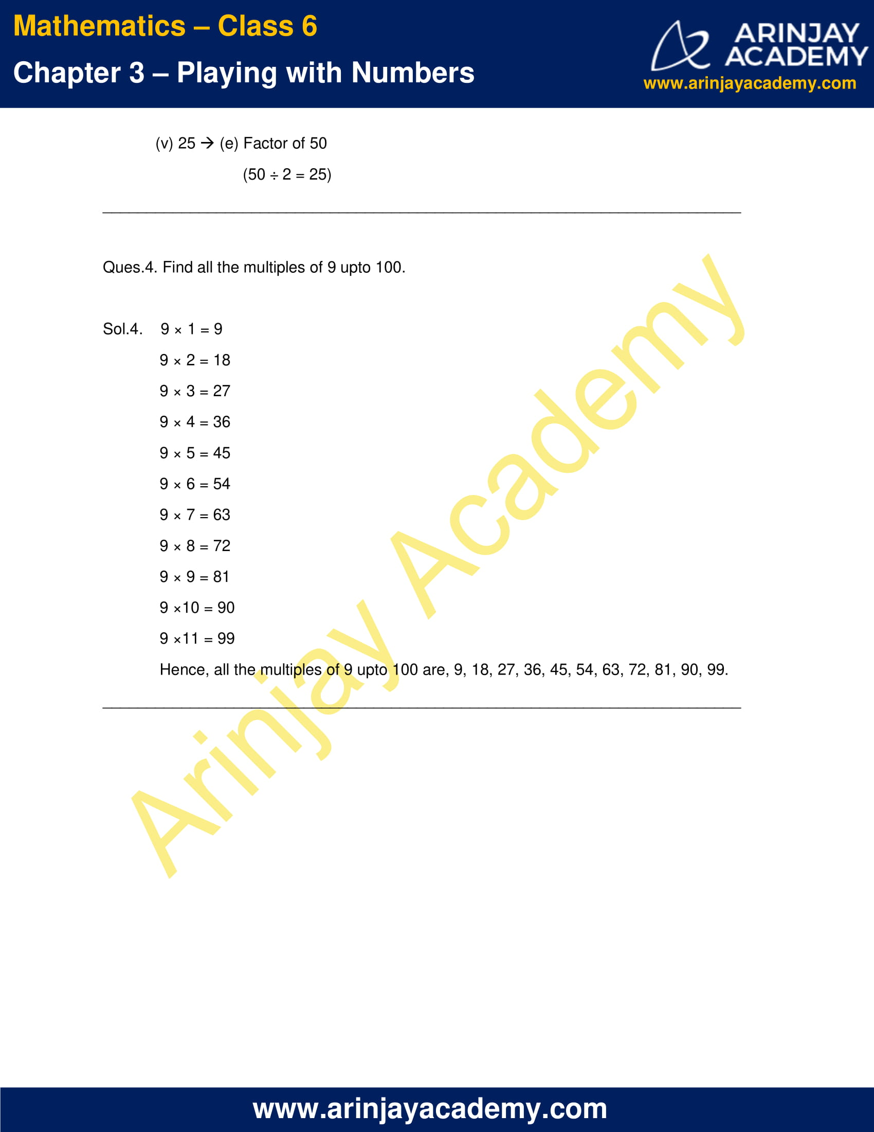 NCERT Solutions for Class 6 Maths Chapter 3 Exercise 3.1 image 3