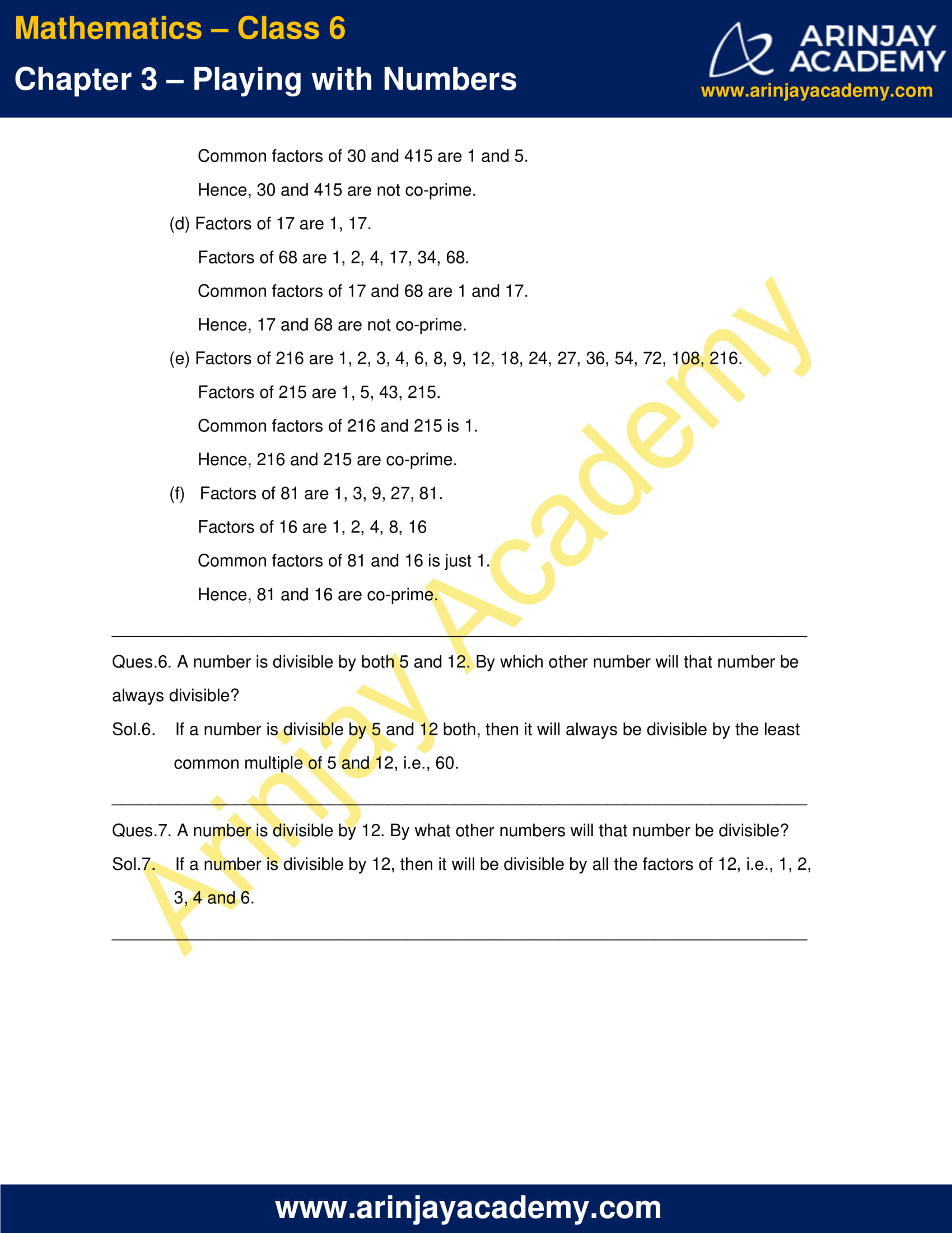NCERT Solutions for Class 6 Maths Chapter 3 Exercise 3.4 image 3