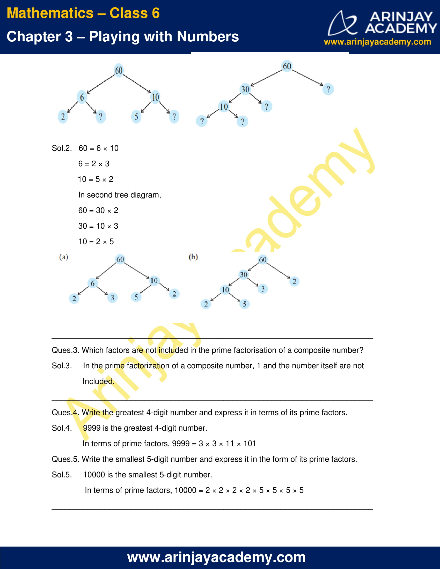 NCERT Solutions for Class 6 Maths Chapter 3 Exercise 3.5 image 2