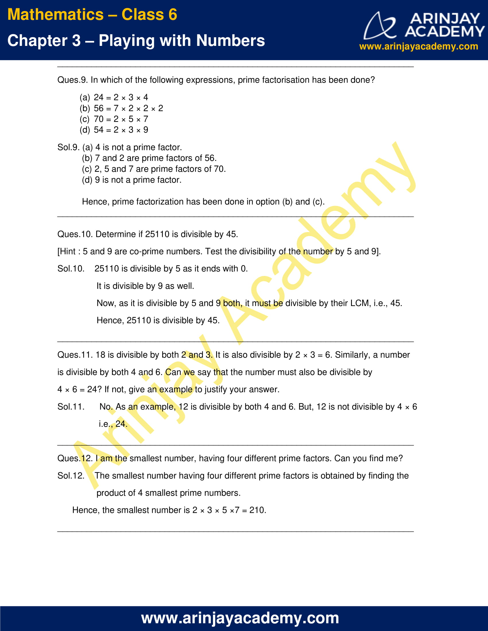 NCERT Solutions for Class 6 Maths Chapter 3 Exercise 3.5 image 4