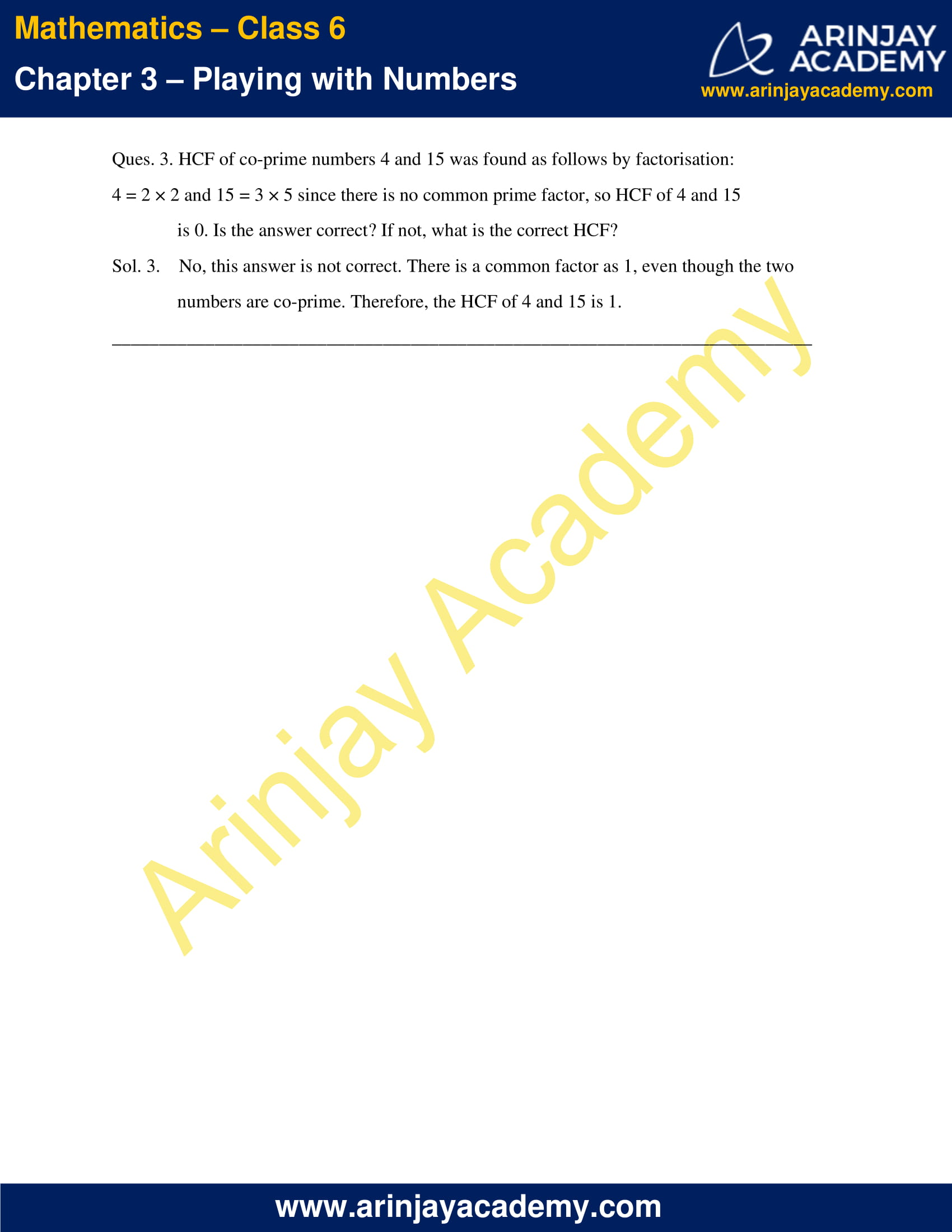 NCERT Solutions for Class 6 Maths Chapter 3 Exercise 3.6 image 3