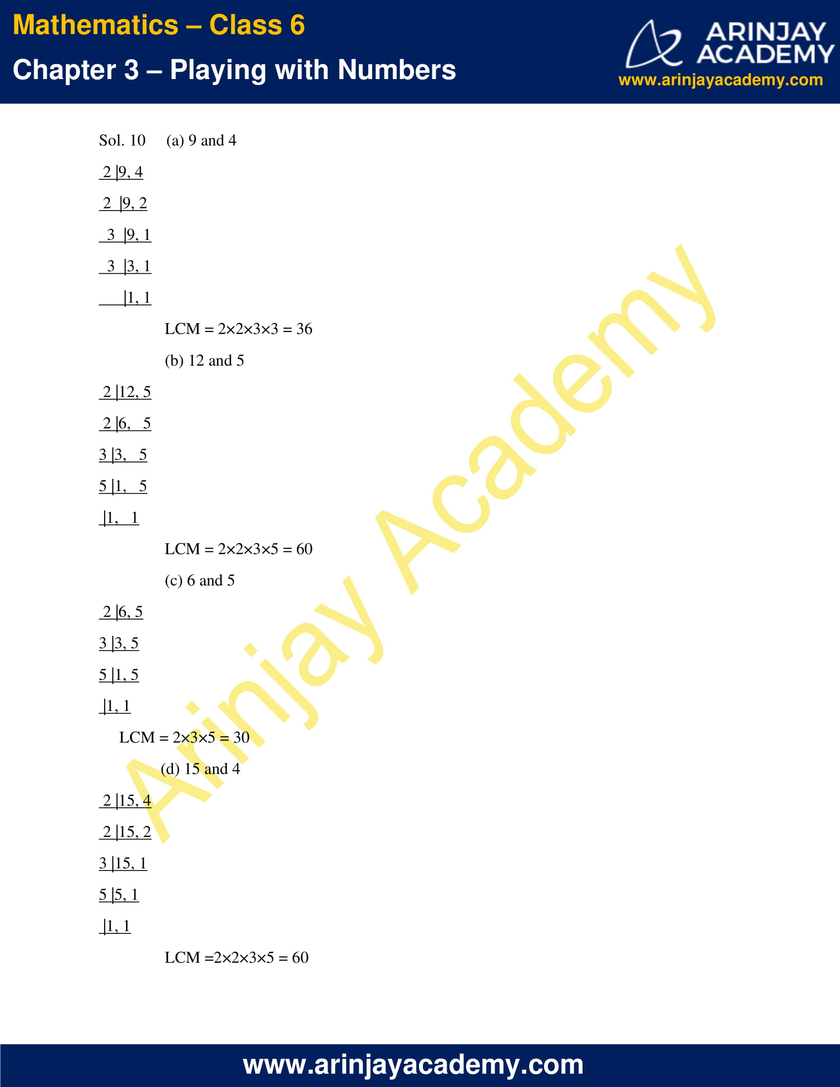 NCERT Solutions for Class 6 Maths Chapter 3 Exercise 3.7 image 5