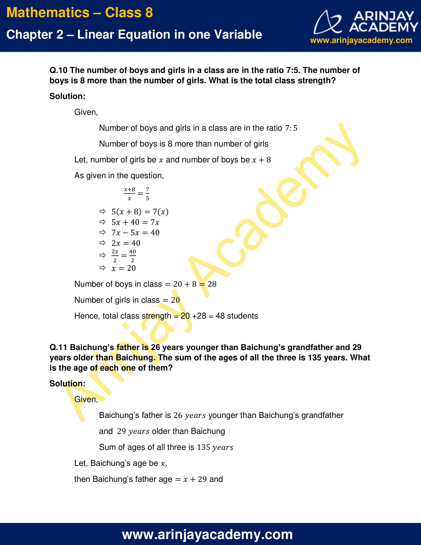 NCERT Solutions for Class 8 Maths Chapter 2 Exercise 2.2 image 6