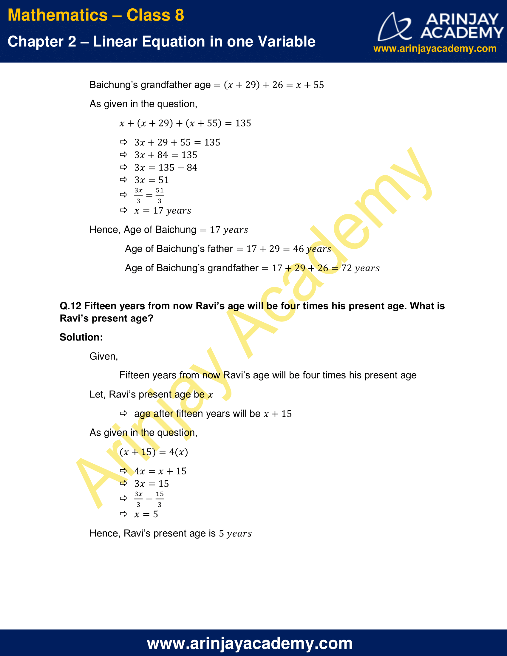 NCERT Solutions for Class 8 Maths Chapter 2 Exercise 2.2 image 7