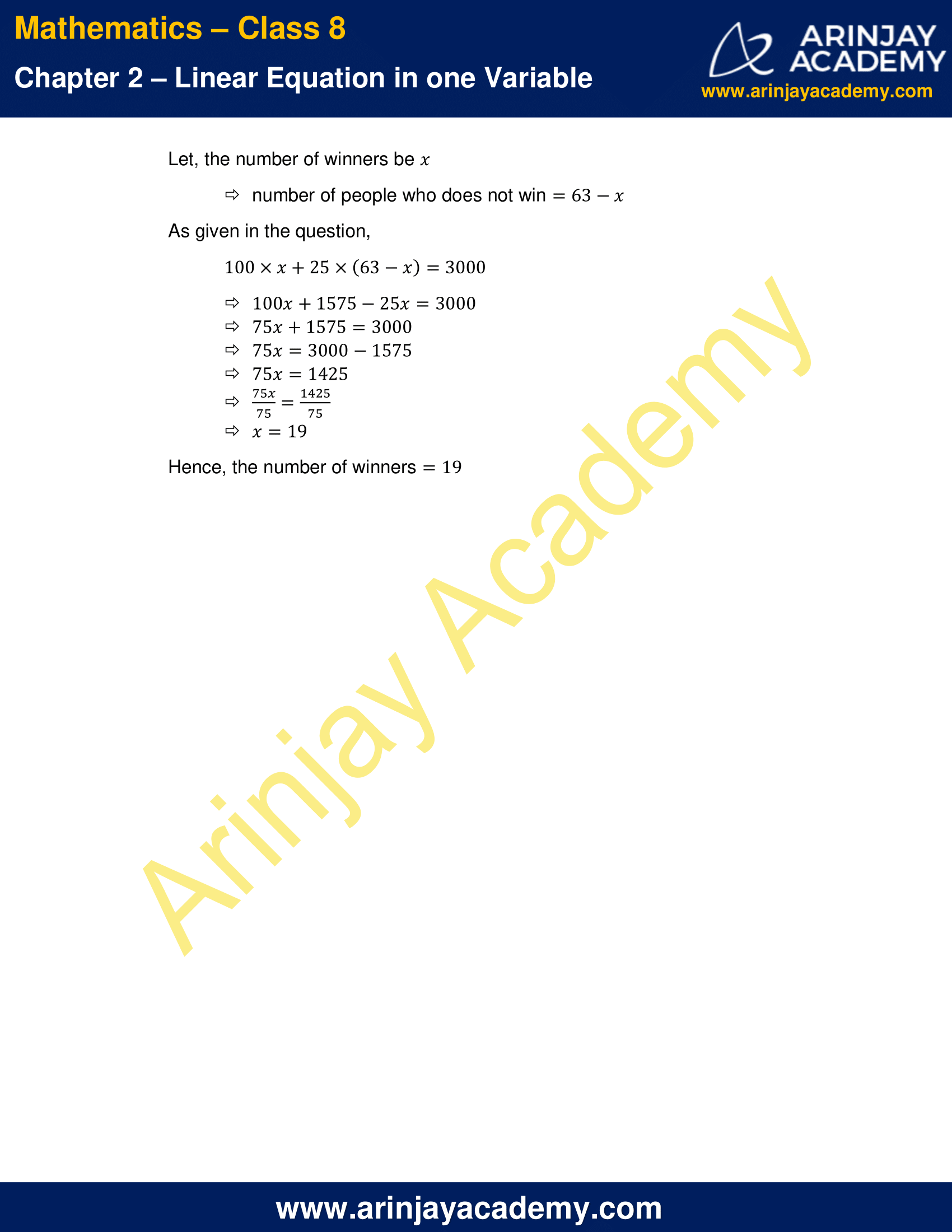 NCERT Solutions for Class 8 Maths Chapter 2 Exercise 2.2 image 10