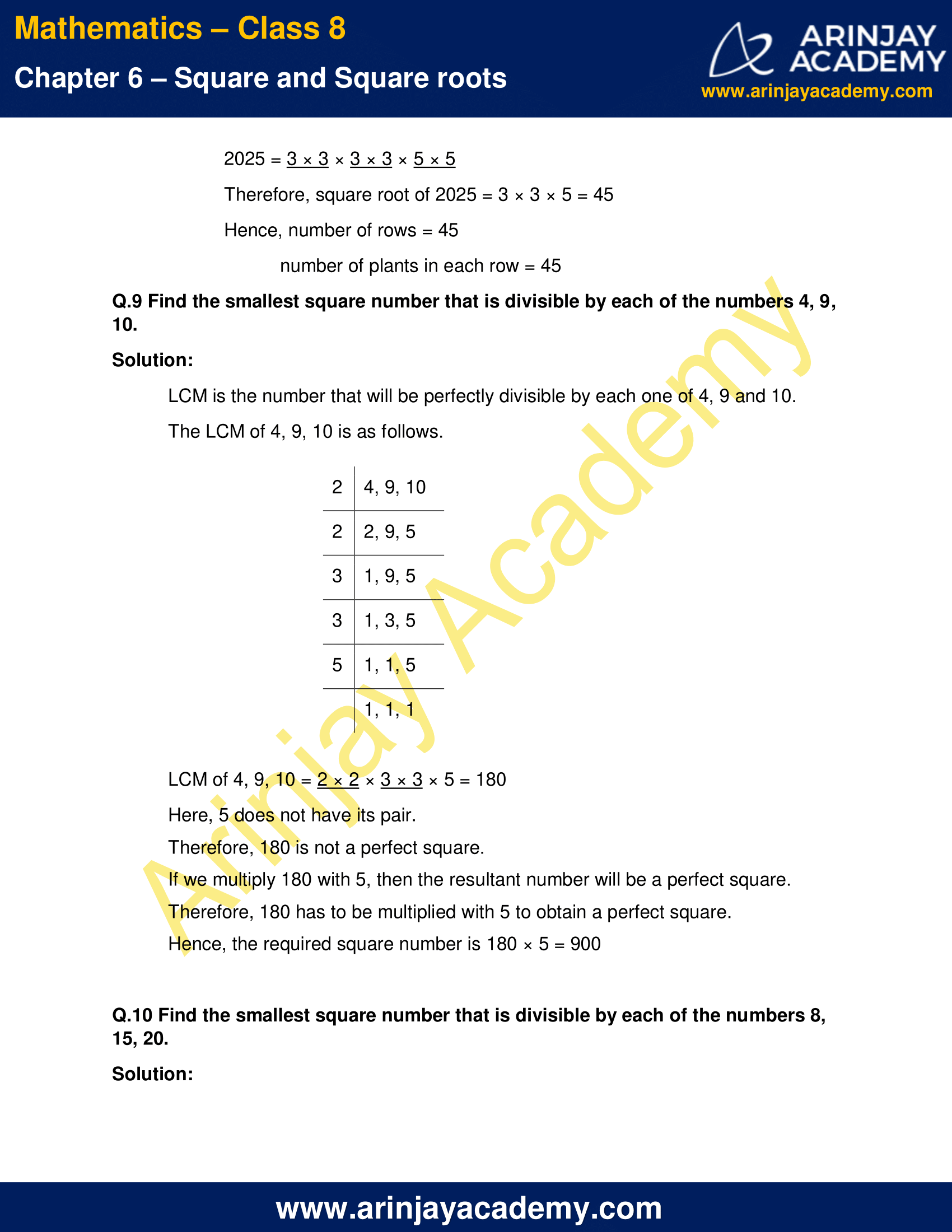 NCERT Solutions for Class 8 Maths Chapter 6 Exercise 6.3 image 16