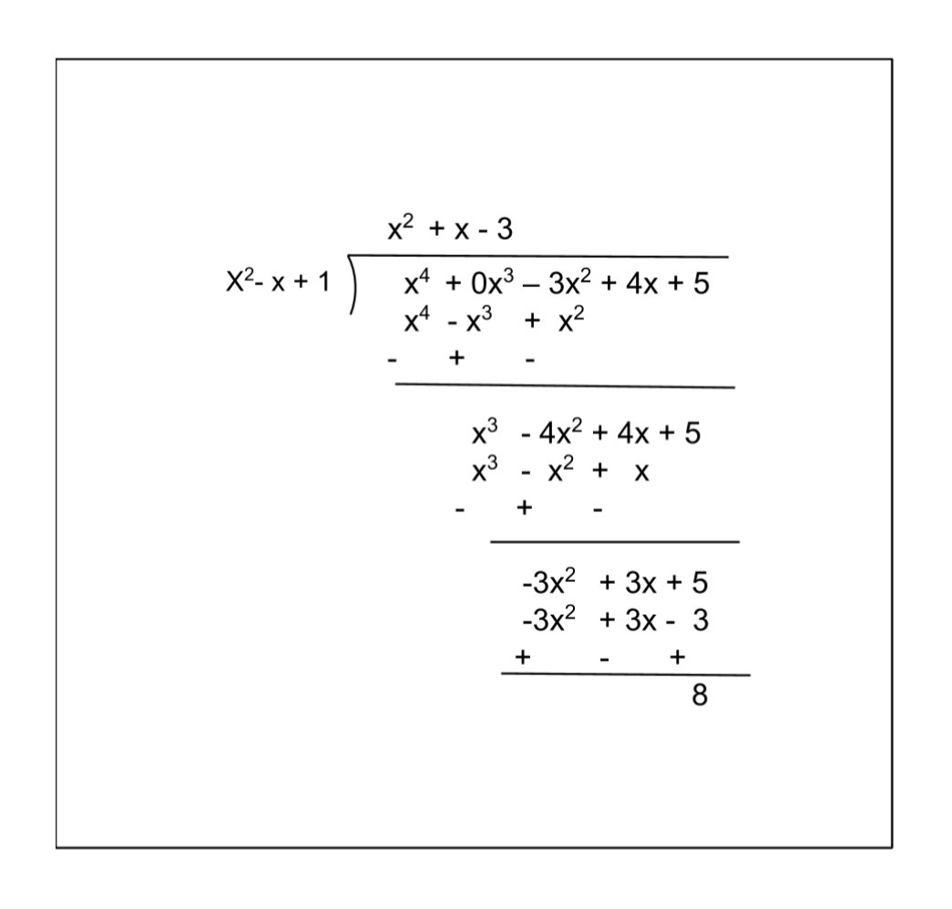 NCERT Solutions For Class 10 Maths Chapter 2 Exercise 2.3 Question 1 ii