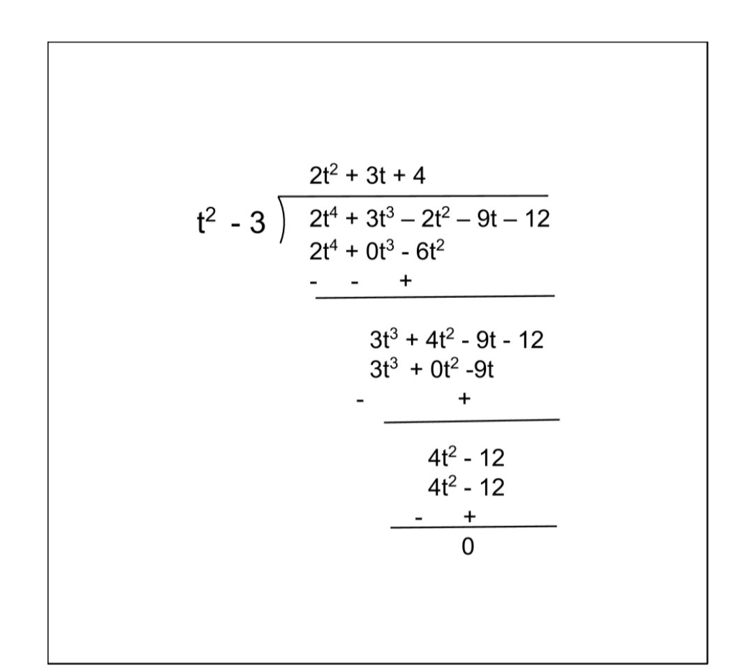 NCERT Solutions For Class 10 Maths Chapter 2 Exercise 2.3 Question 2 i