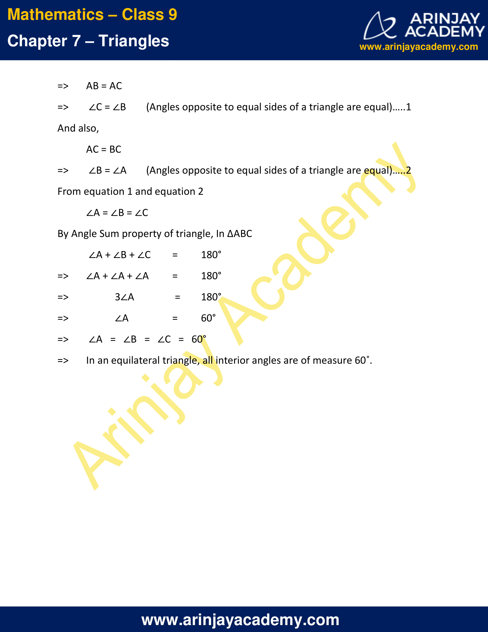 NCERT Solutions for Class 9 Maths Chapter 7 Exercise 7.2 image 8