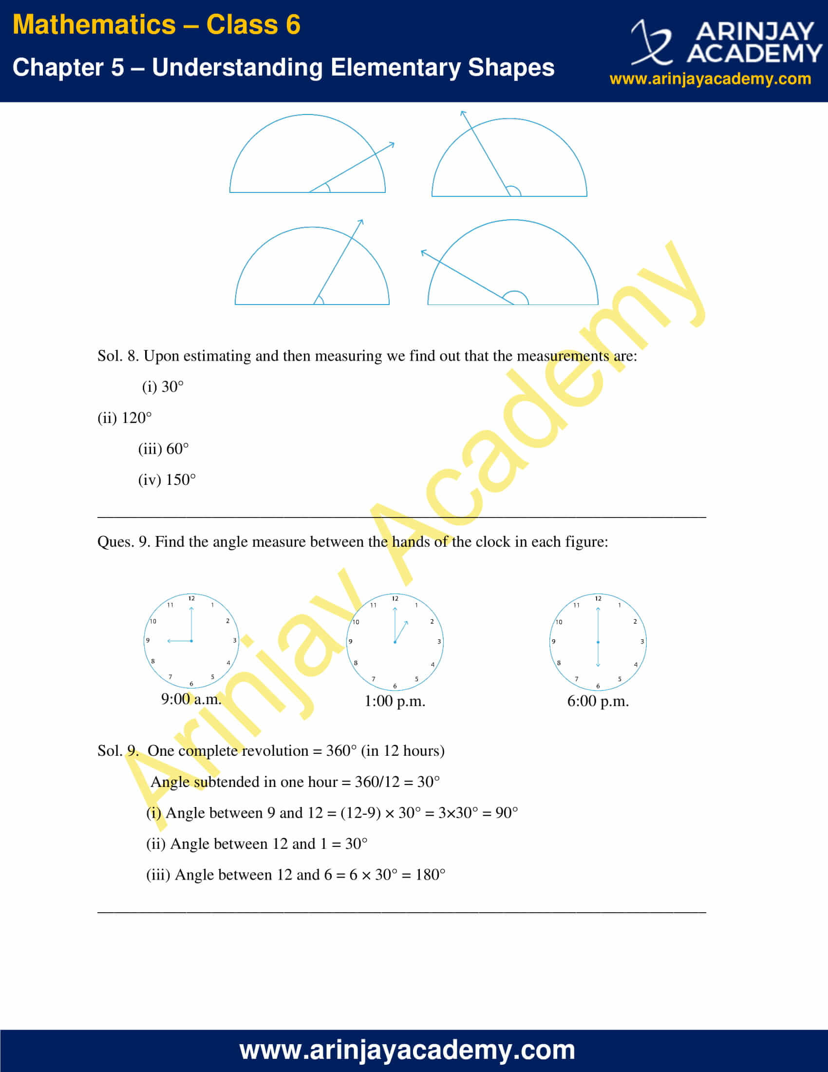 NCERT Solutions for Class 6 Maths Chapter 5 Exercise 5.4 image 4