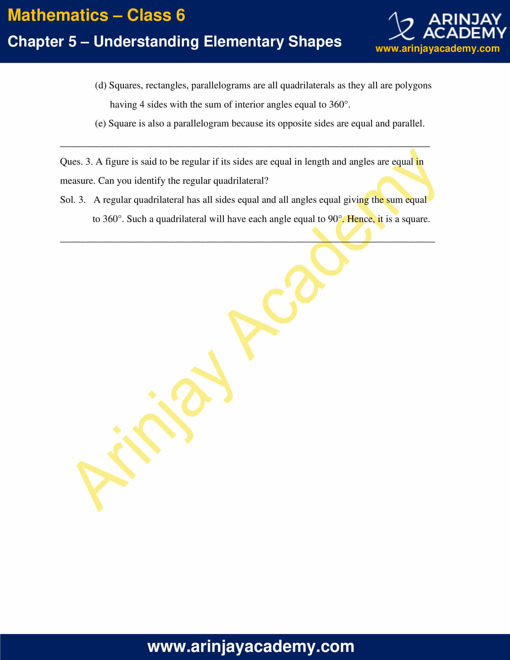 NCERT Solutions for Class 6 Maths Chapter 5 Exercise 5.7 image 2