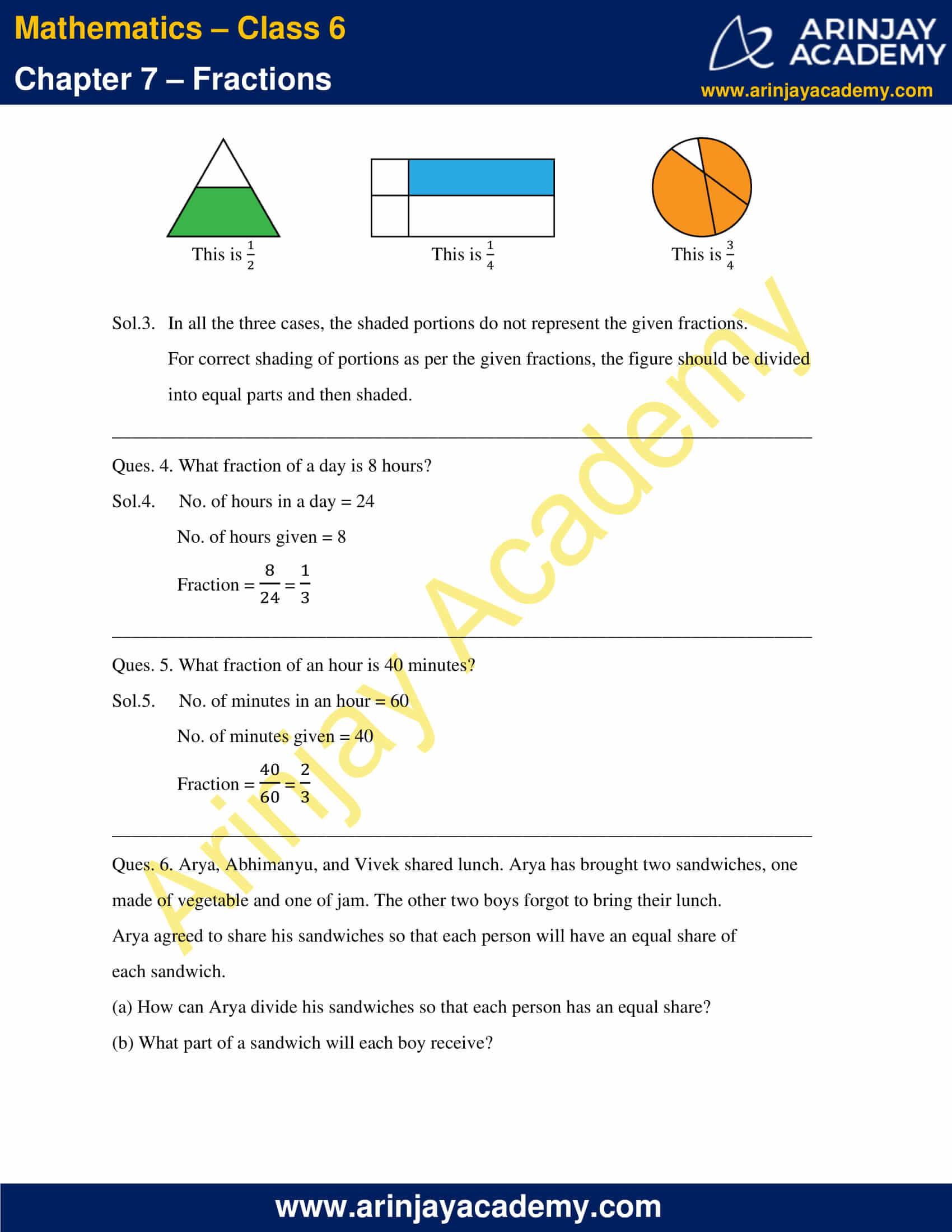 NCERT Solutions for Class 6 Maths Chapter 7 Exercise 7.1 image 4