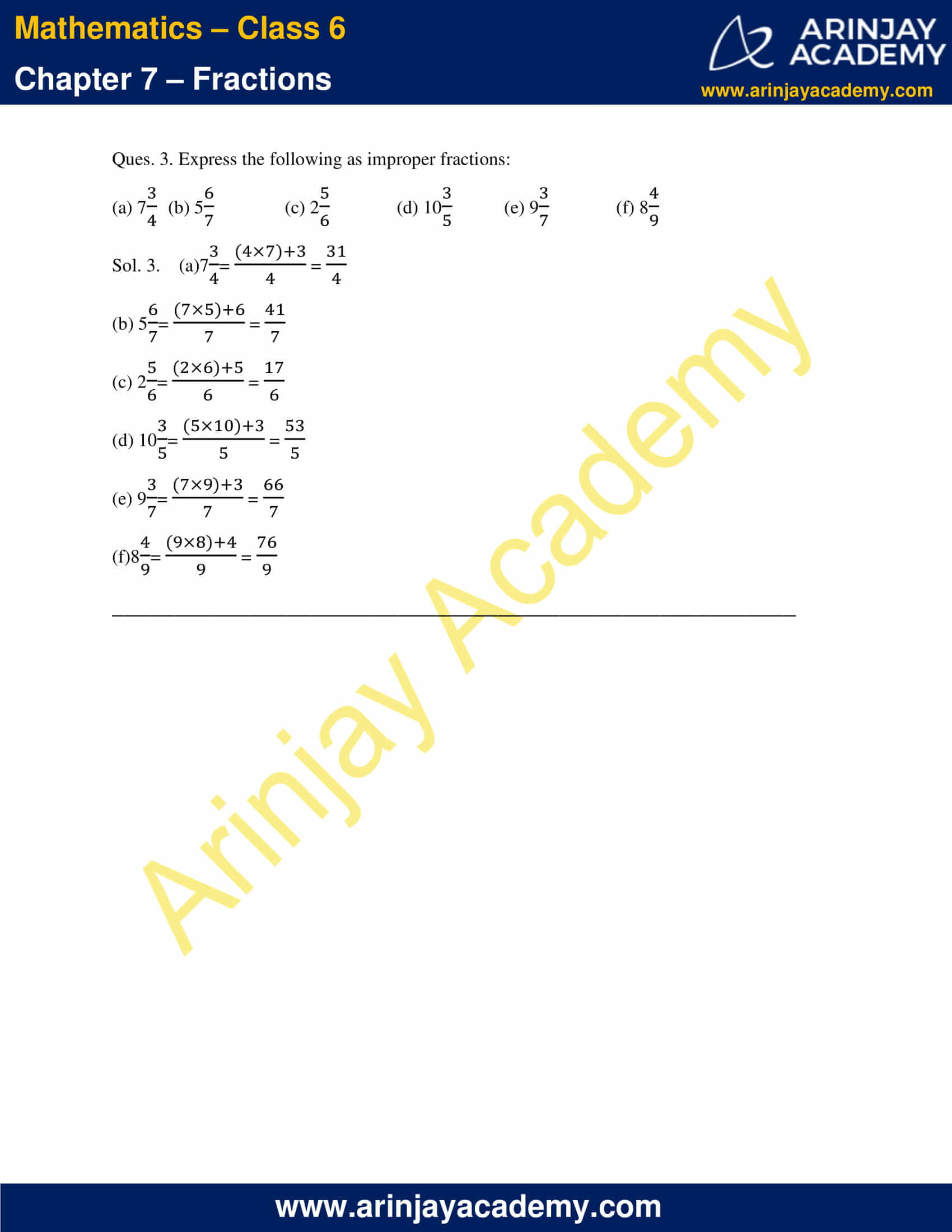 NCERT Solutions for Class 6 Maths Chapter 7 Exercise 7.2 image 2