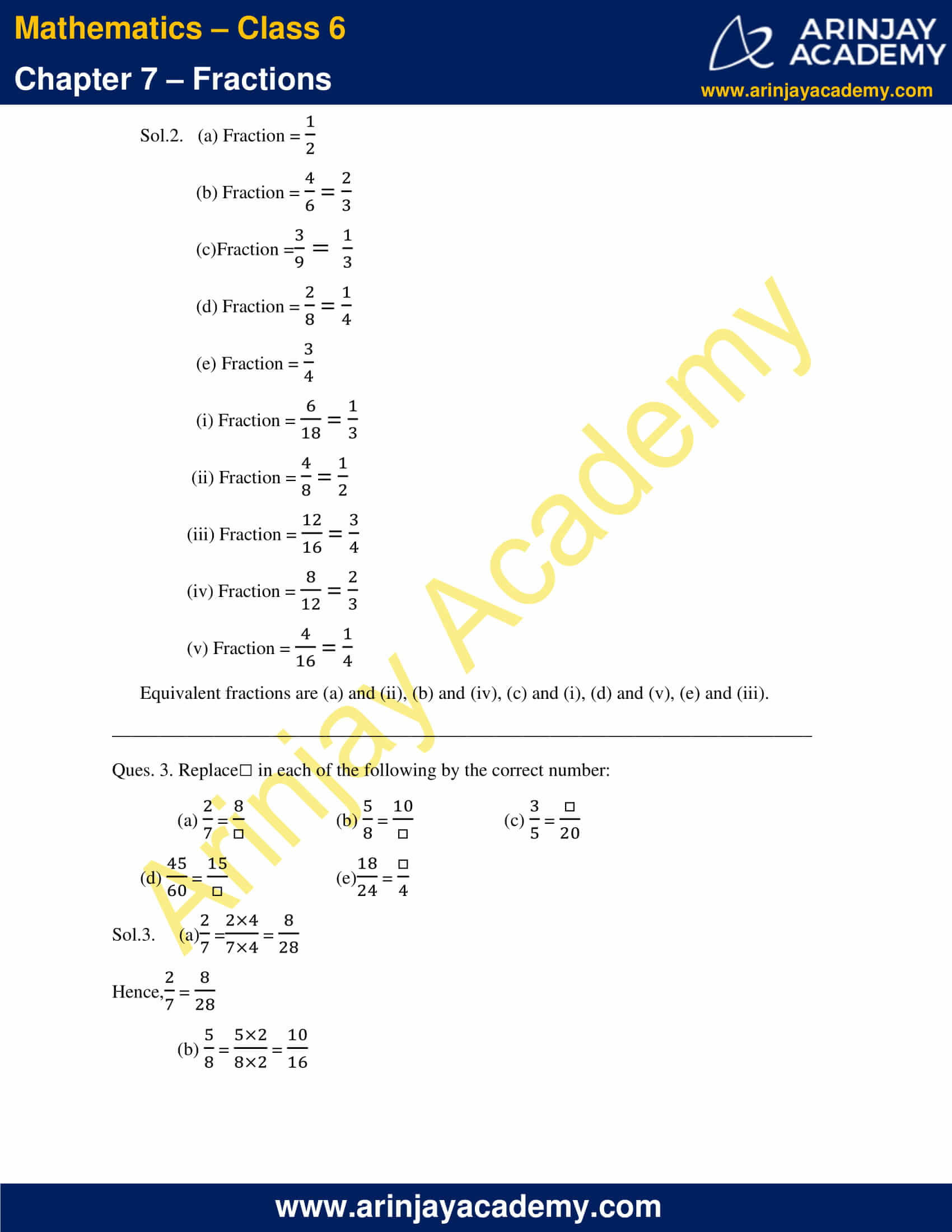 NCERT Solutions for Class 6 Maths Chapter 7 Exercise 7.3 image 2
