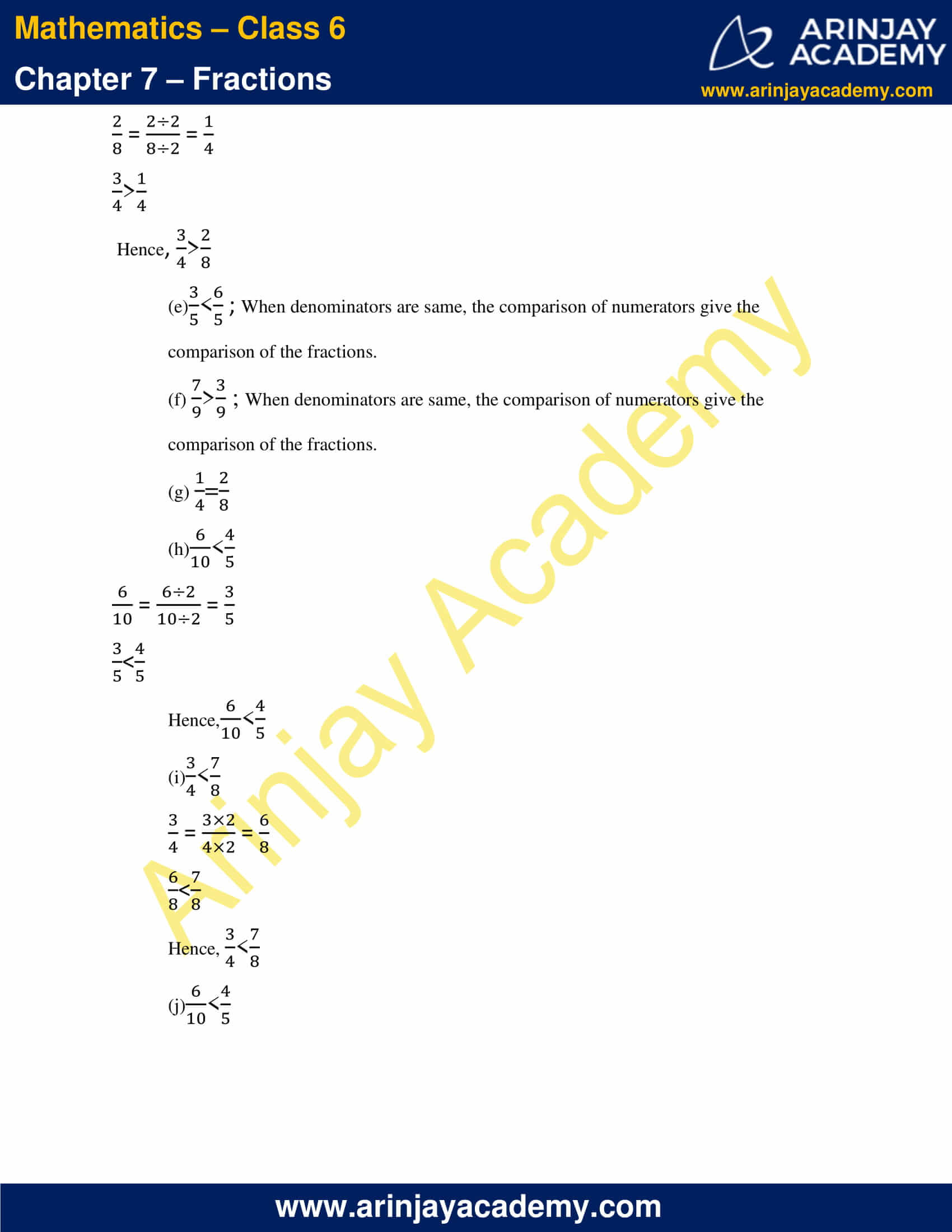 NCERT Solutions for Class 6 Maths Chapter 7 Exercise 7.4 image 5
