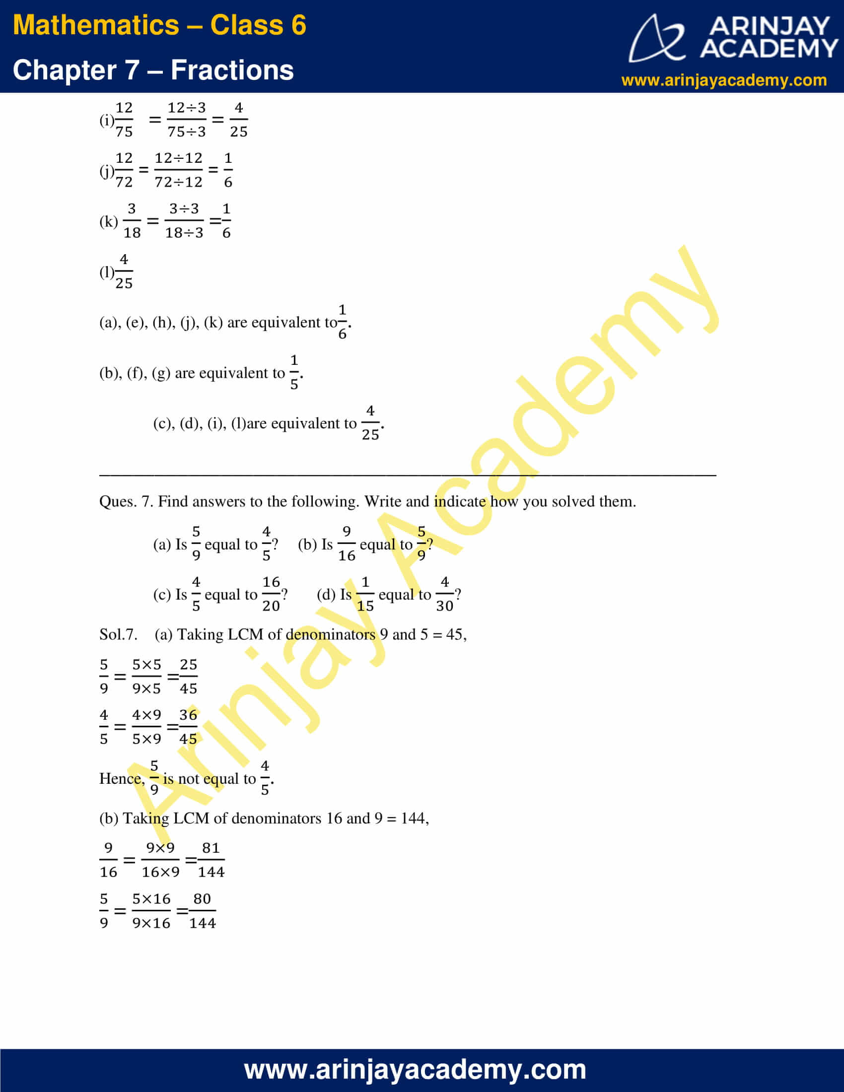 NCERT Solutions for Class 6 Maths Chapter 7 Exercise 7.4 image 7
