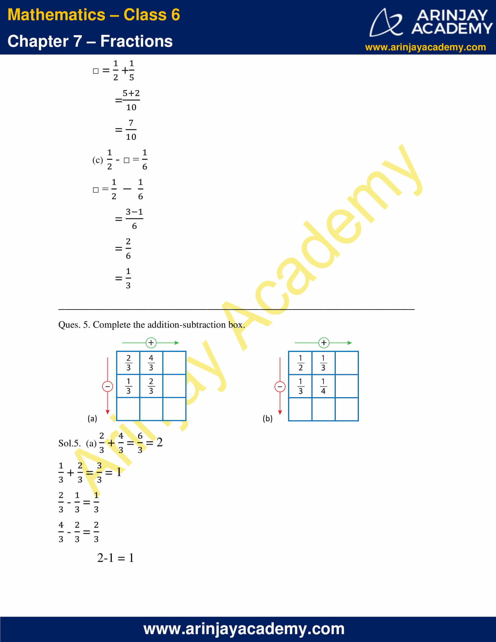 NCERT Solutions for Class 6 Maths Chapter 7 Exercise 7.6 image 5