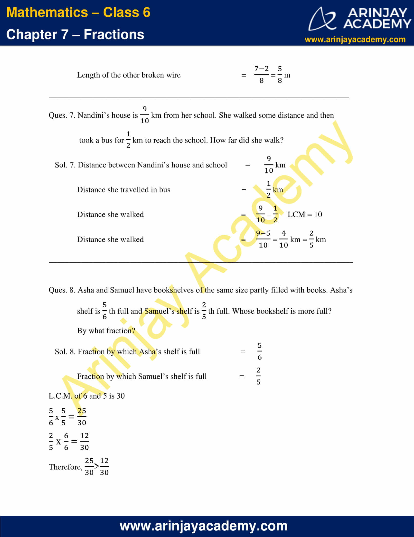 NCERT Solutions for Class 6 Maths Chapter 7 Exercise 7.6 image 7