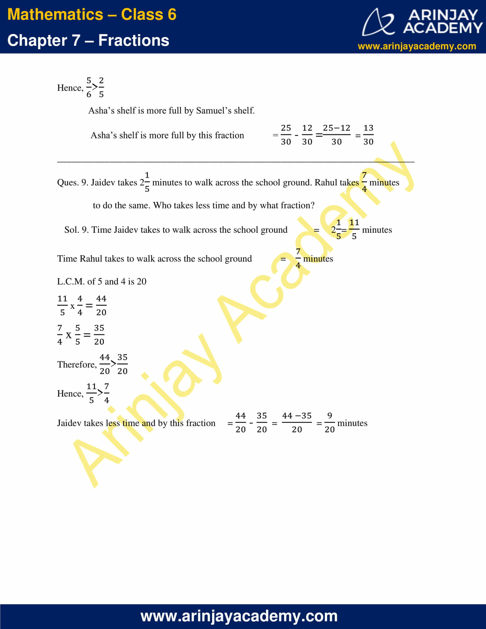 NCERT Solutions for Class 6 Maths Chapter 7 Exercise 7.6 image 8