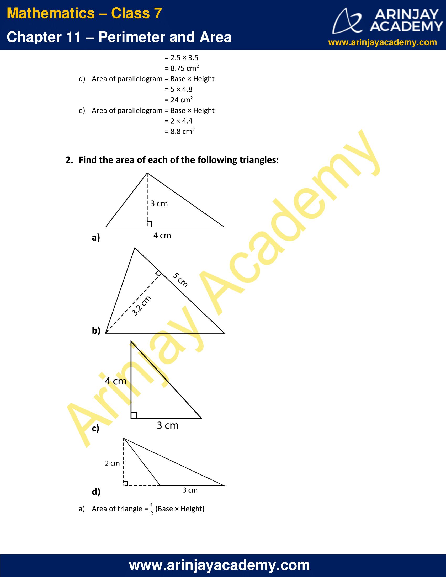 NCERT Solutions for Class 7 Maths Chapter 11 Exercise 11.2 image 2