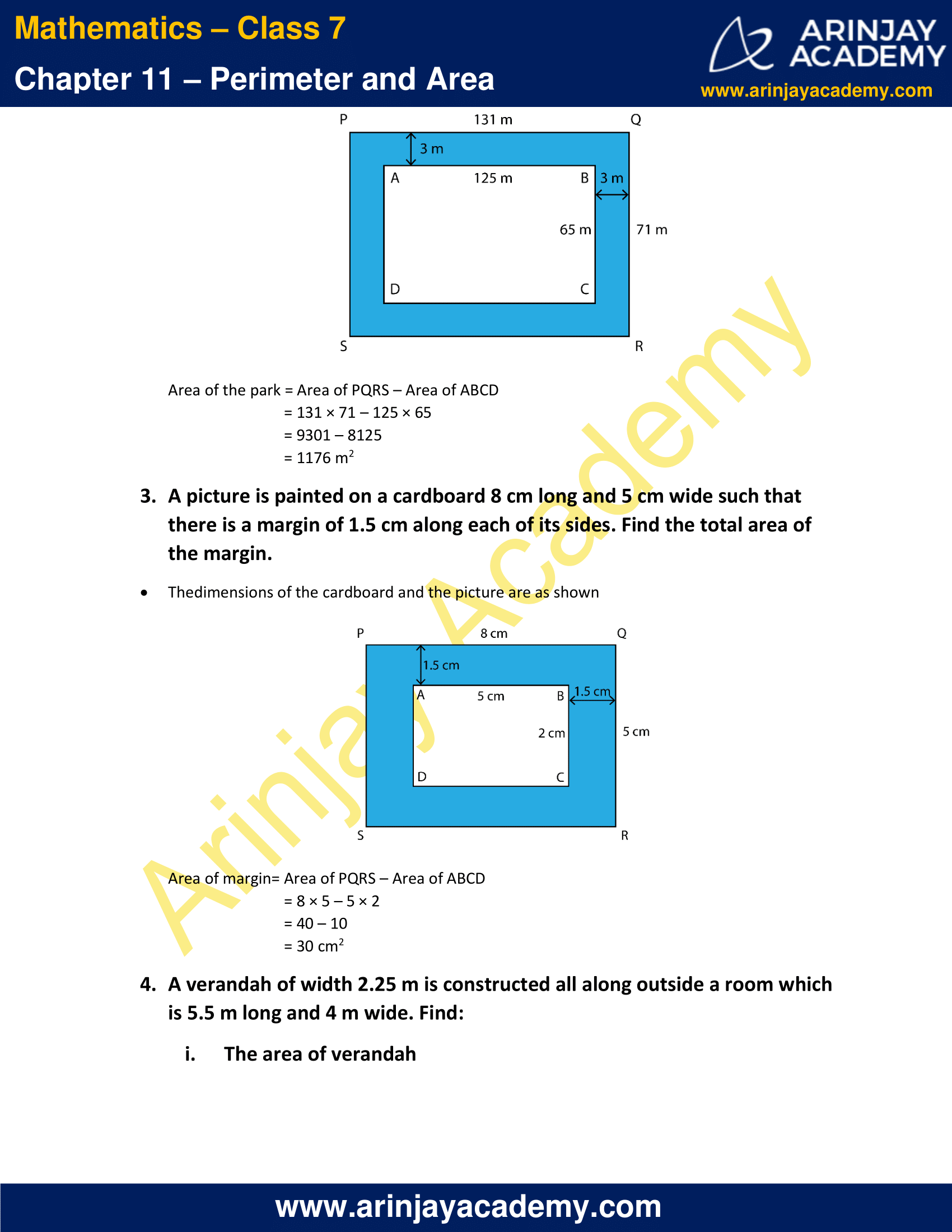 NCERT Solutions for Class 7 Maths Chapter 11 Exercise 11.4 image 2