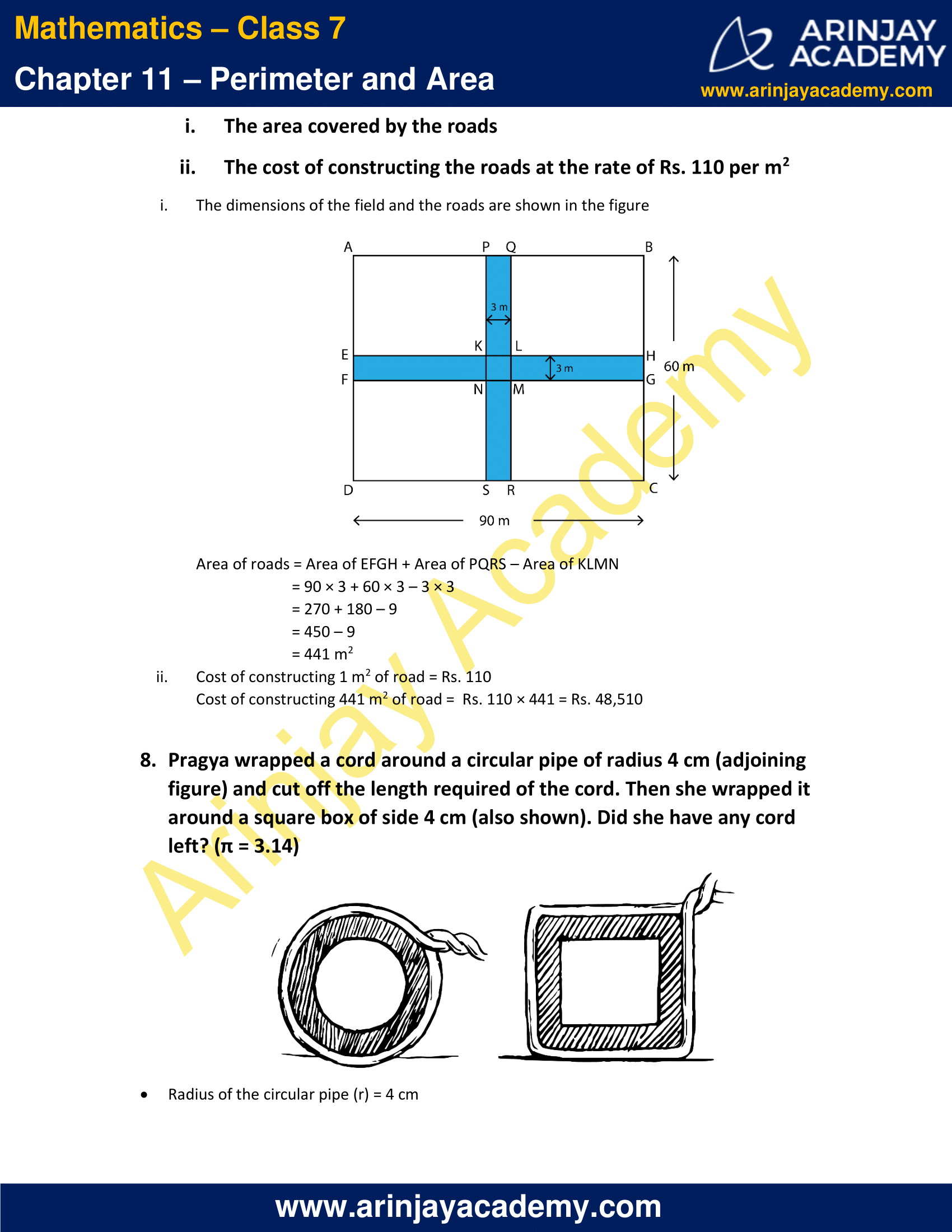 NCERT Solutions for Class 7 Maths Chapter 11 Exercise 11.4 image 5