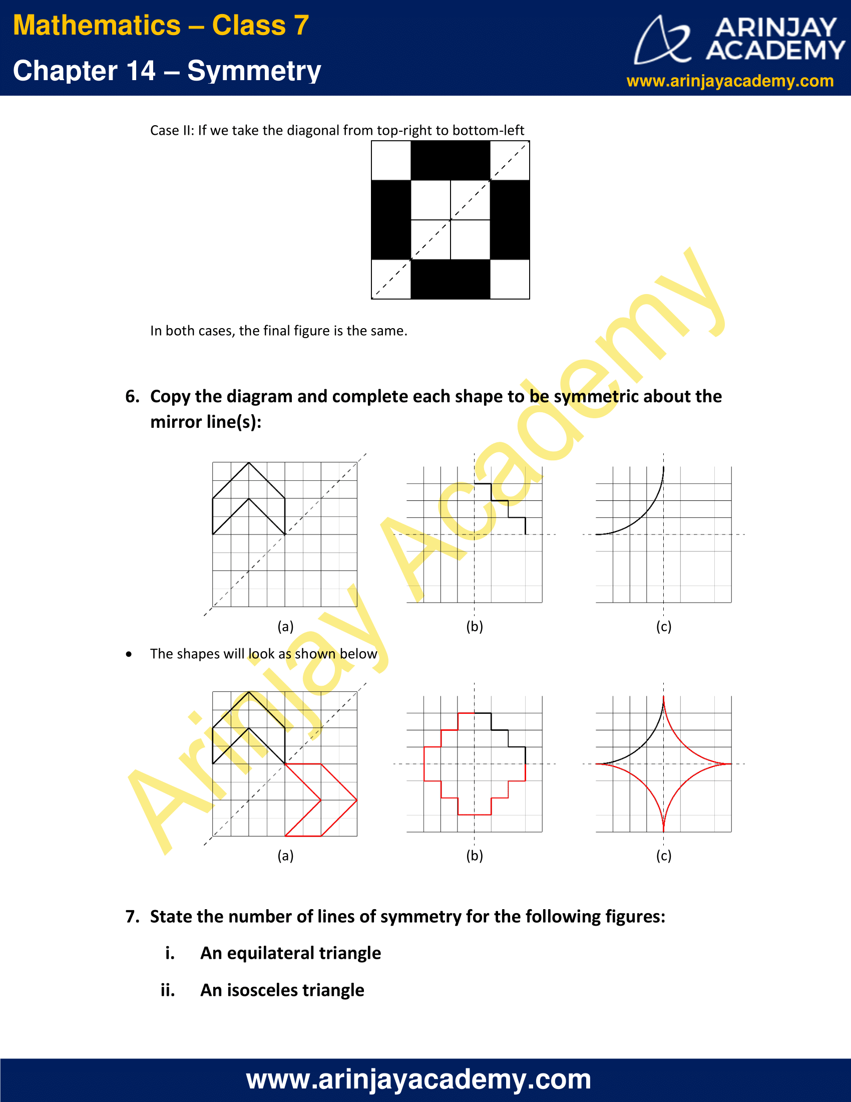 NCERT Solutions for Class 7 Maths Chapter 14 Exercise 14.1 image 5